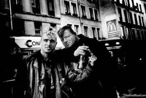 Black-and-white Punk Photography in Paris